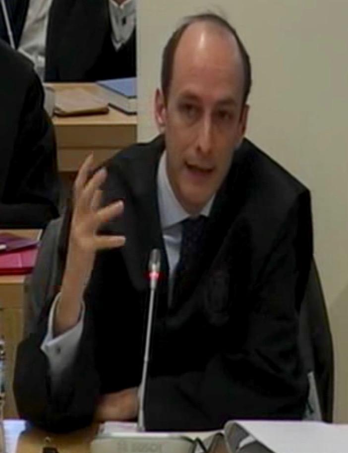 José María de Pablo Hermida, abogado