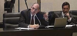 El Juez Elpidio, durante su juicio