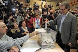 artur mas votando
